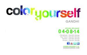 """Color Yourself"" by Gandhi"