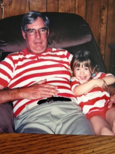 Red Striped Shirts Ash and Gramps