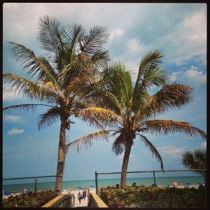 Cocoa Beach bridge to ocean 040113